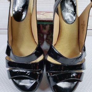 Softspots Shoes - Womens Softspots Pillowtop Black Patent Neima Shoe